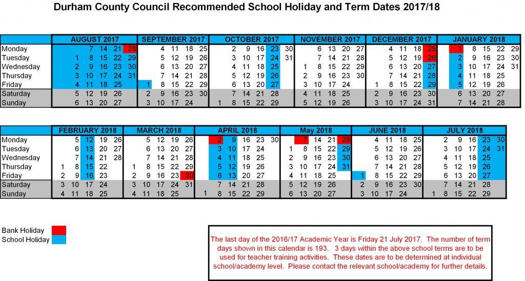 term dates wellfield school