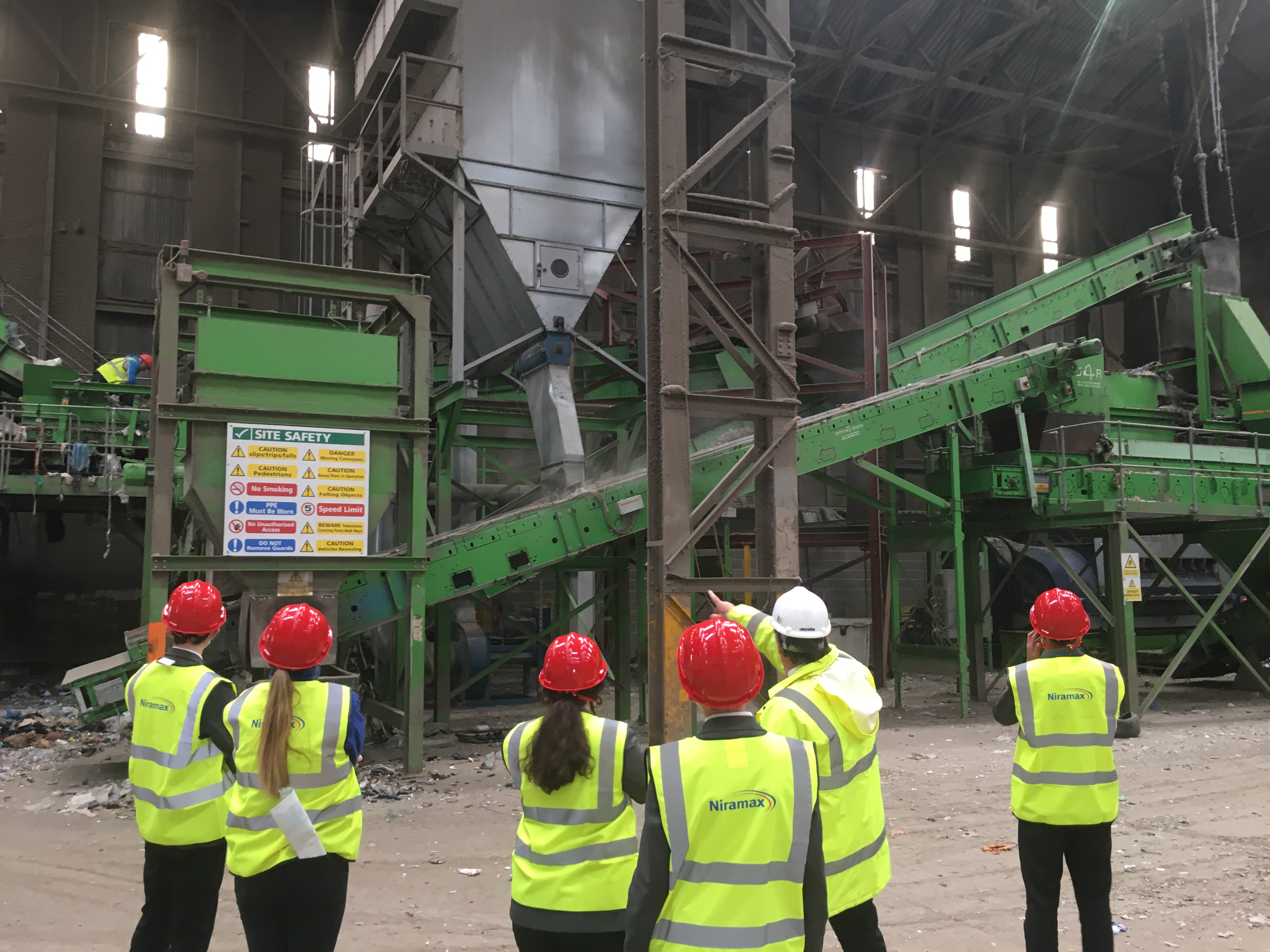 Hartlepool Veolia Recycling Plant Visit