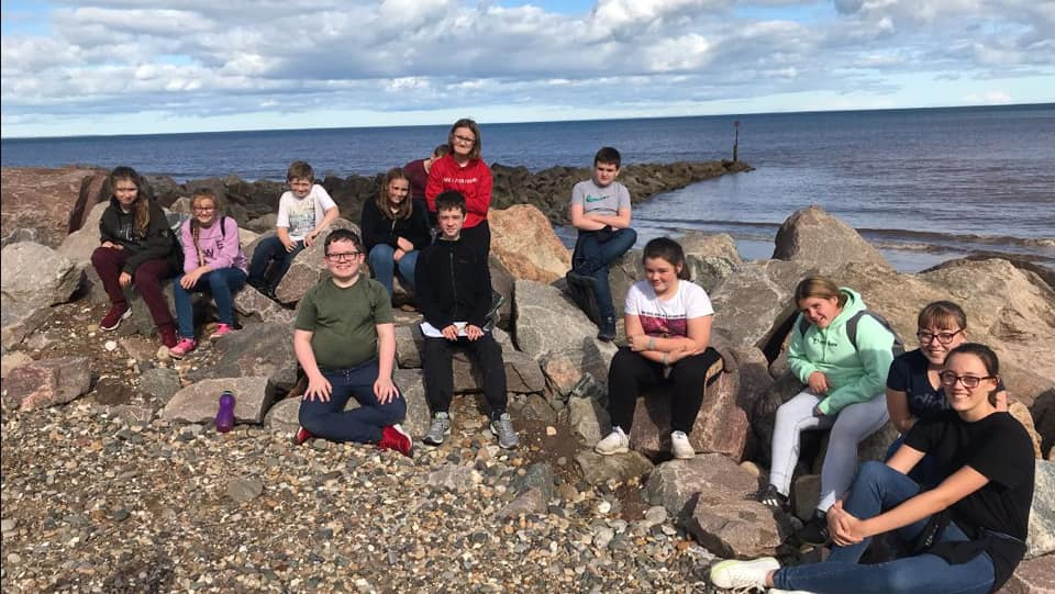 """Geography """"Out and About """" visit The Holderness Coast 28/09/19."""