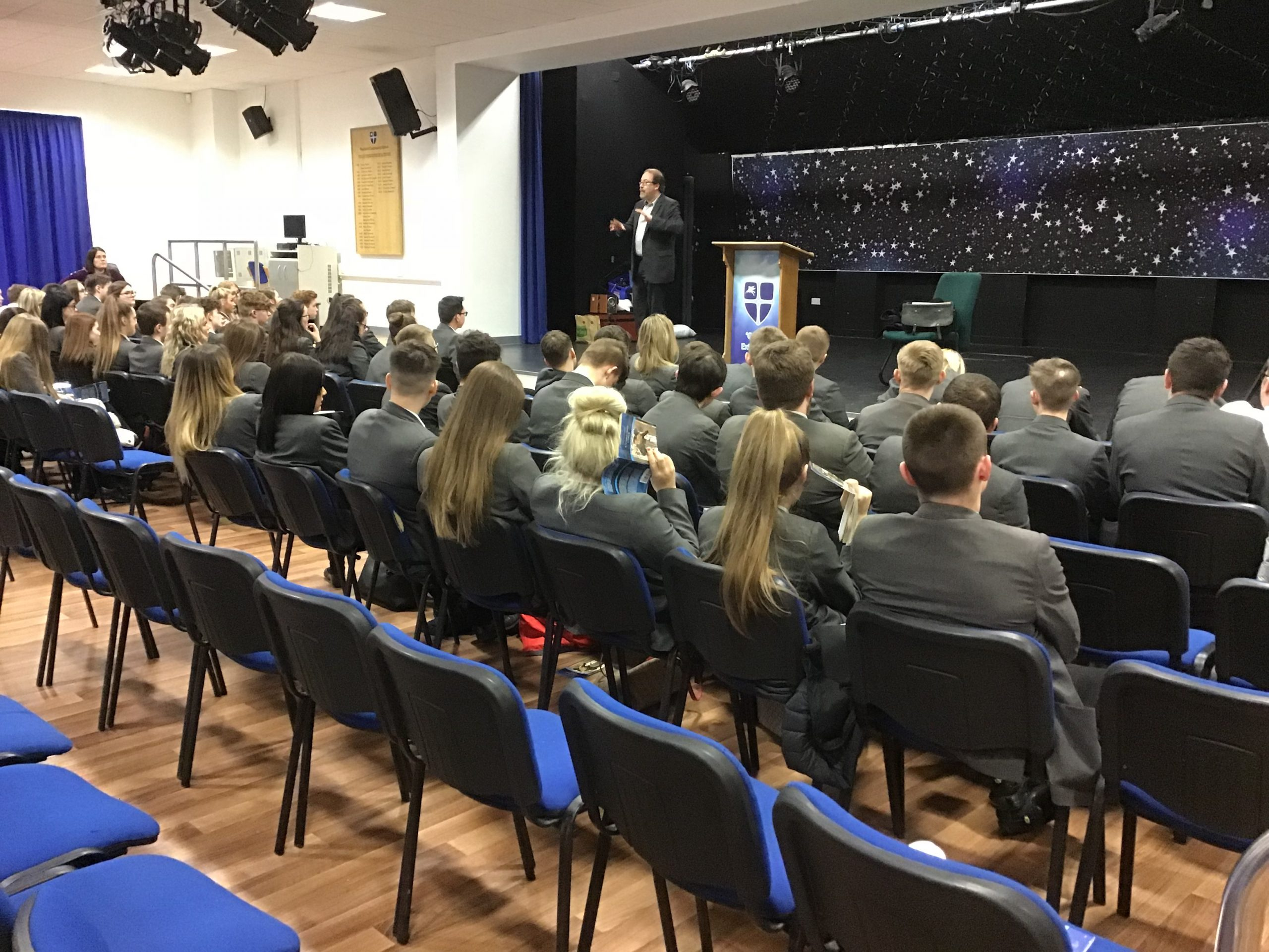 Year 11 Lecture from Professor Simon James of Durham University