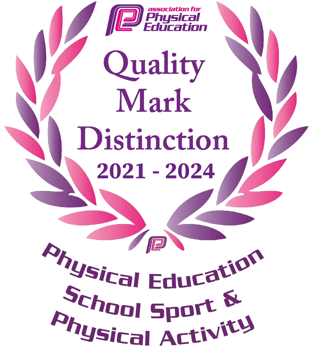 Award for Our PE Department